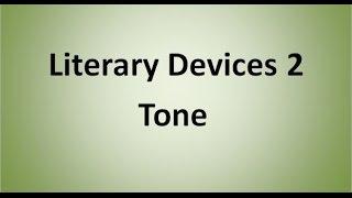 Tone (Literary Device)