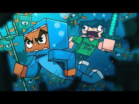 OCEAN MONUMENTS ARE TOO DANGEROUS! - Minecraft!