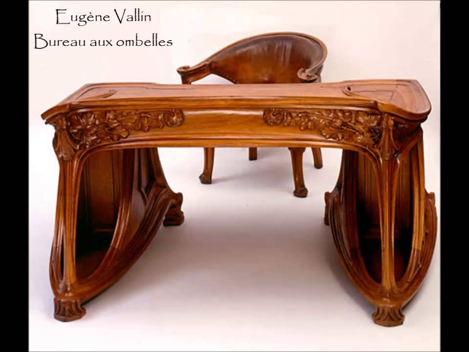 art nouveau mobilier youtube