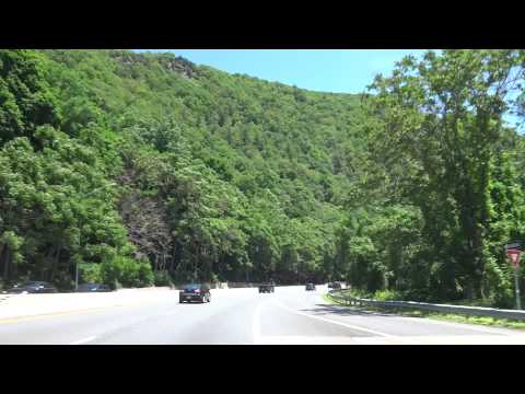 Driving Through: Delaware Water Gap from PA to NJ