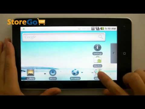 Haipad M701 Android 2.1 Tablet 7.0 Inch Touch Screen HD 1080P HDMI WiFi G-sensor