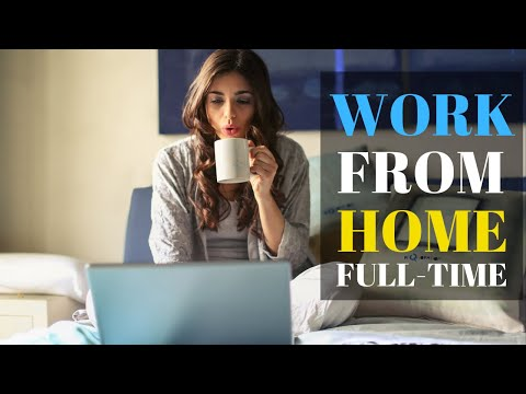 WORK FROM HOME FULL TIME - 5 COMPANIES THAT HIRE REMOTE WORK