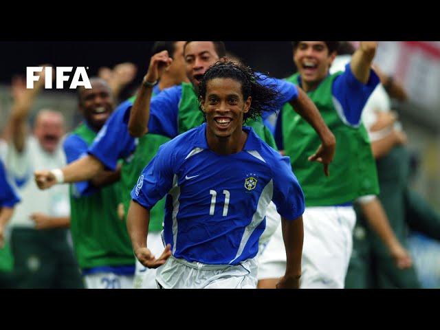Ronaldinho free-kick vs England | 2002 FIFA World Cup