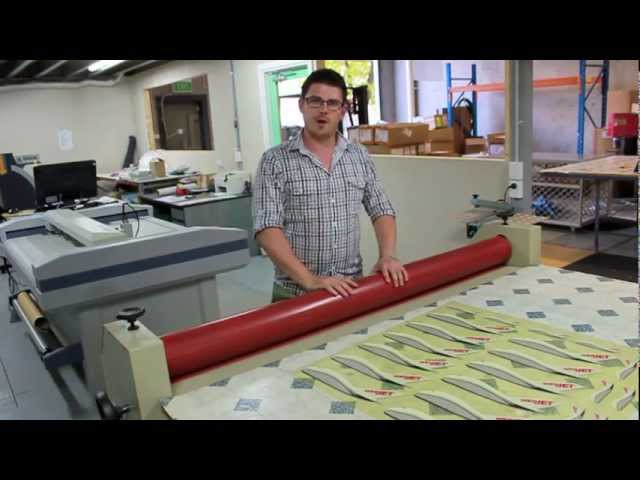 How To Use A Cold Laminator Youtube