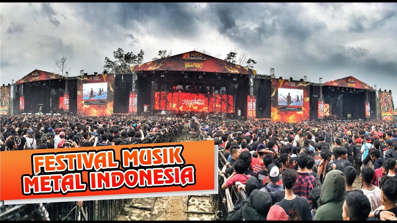Festival Musik Metal Di Indonesia ll Versi Untitled Channel
