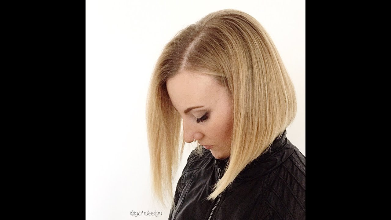 Blonde Bob Haircut Make Up