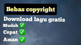 Cara download backsound musik no copyright di audio library youtube || melalui hp Android