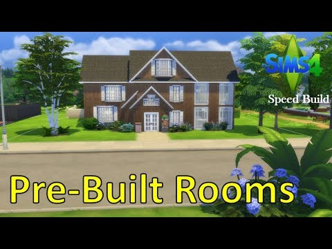 Sims 4 Sd Build Only Using Pre Built Rooms