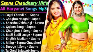 Sapna Chaudhary All New Songs 2021 | New Haryanvi Songs Jukebox 2021 | Sapna Chaudhary Hit Song 2021