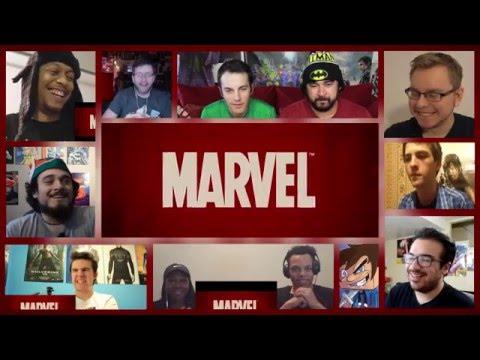 Deadpool | Red Band Trailer [HD] | 20th Century FOX - Reactions Mashup