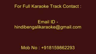 Tomar Barir Samne Diye - Karaoke - Kishore Kumar