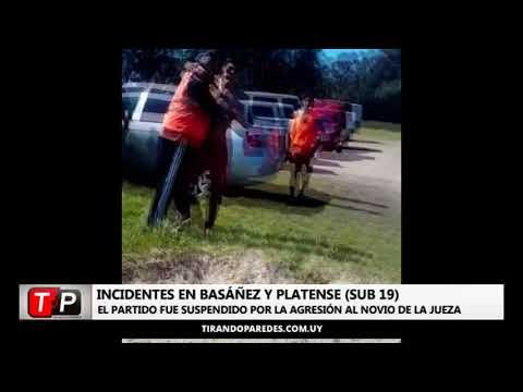 Incidentes en Basáñez y Platense en la categoría Sub 19