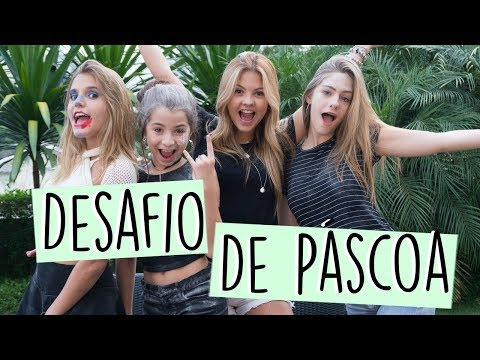 DESAFIO DE PÁSCOA ft. Julia Gomes, Ivana e Giu Nassa || Valentina Schulz