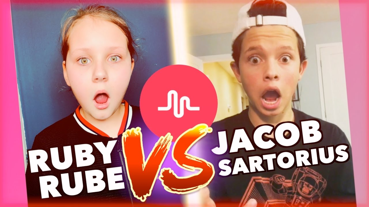 Ruby Rube Vs Jacob Sartorius Remaking Musical Lys Youtube