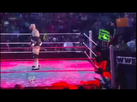 The Miz Vs  Brodus Clay  Funkadactyls WWE RAW 2012