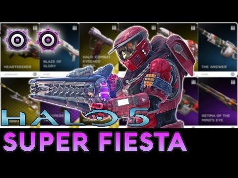 Halo 5: Guardians - Super Fiesta Gameplay (Rampage, 2 Running Riots)