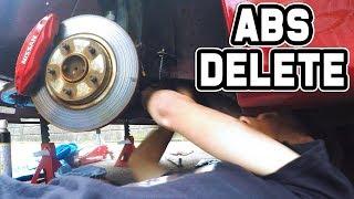 BREAKING MY BRAKES! - GKTech ABS Delete Kit Install