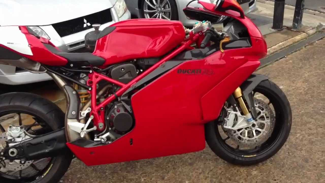 Ducati 749R for sale @ Edward Lee's - YouTube