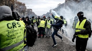 Yellow Vests take to streets of Paris for 29th week in a row