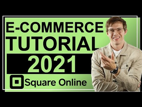 E-COMMERCE Tutorial For Beginners 📈 (Create An Easy Online Store!) - Square Online