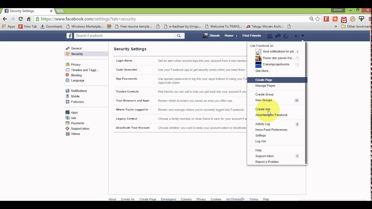 How to check whether my facebook account is hacked or not youtube how to check whether my facebook account is hacked or not ccuart Choice Image