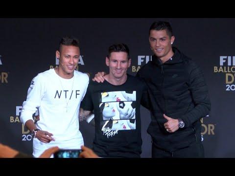 Switzerland: Messi, Neymar and Renaldo speak ahead of FIFA Ballon d'Or