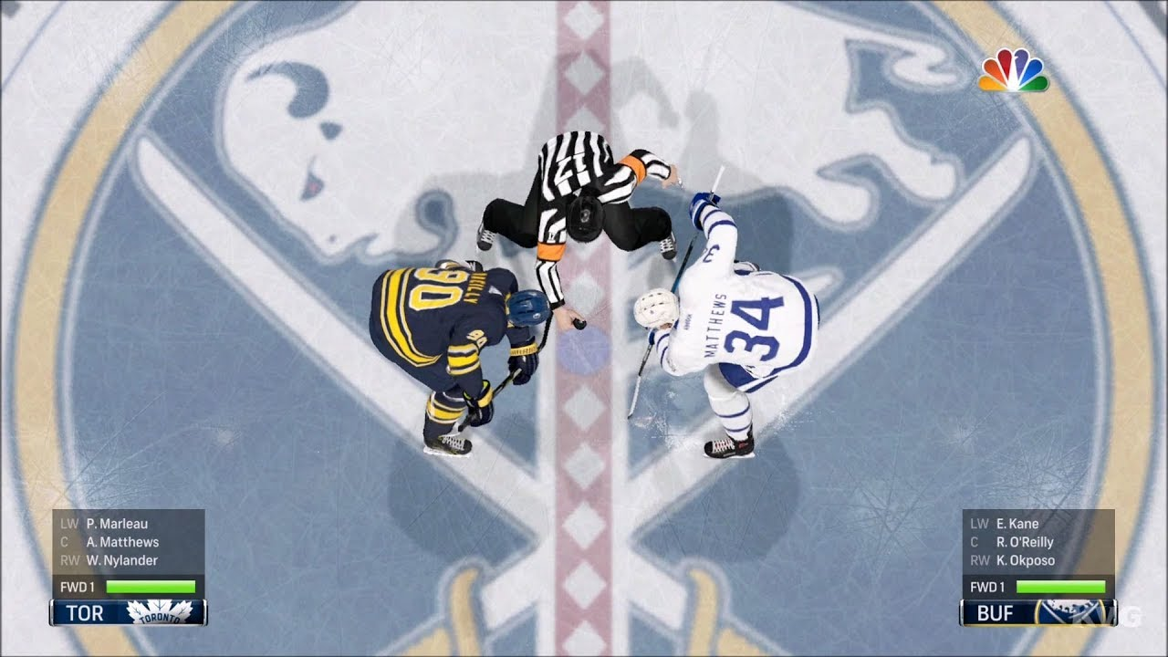 NHL 18 - Buffalo Sabres vs Toronto Maple Leafs - Gameplay (HD)  1080p60FPS  15af9f3b5805