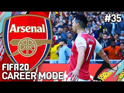 CRISTIANO RONALDO HAS ARRIVED! | FIFA 20 ARSENAL CAREER MODE #35