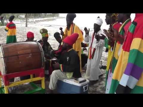 Bobo Shanti-Ethiopia Africa Black International Congress - Bahamas Branch. Clifton Bay April 2013