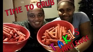 TAKIS CHALLENGE!! EATING FUEGO XTREME SPICY CHIPS | MUKBANG