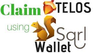 How To Claim Telos Using SQRL Wallet