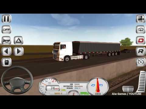 ETDS - Gameplay #1 / Grain - Flatbed Transport / Long way