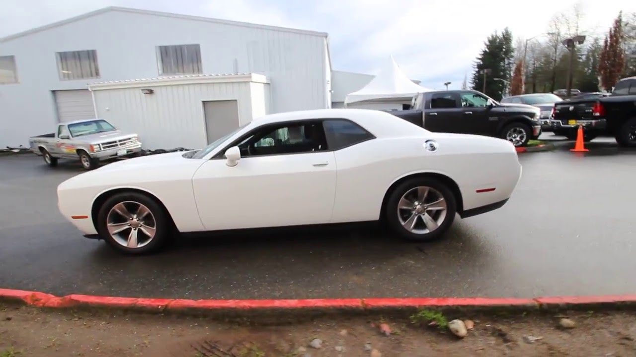 2015 Dodge Challenger Sxt Bright White Clearcoat Fh712258