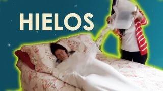 Despertando con hielos a Lesslie mientras duerme | LOS POLINESIOS BROMAS PLATICA POLINESIA