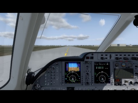 Carenado 390 Premier 1A Decent and Landing at Fargo, ND KFAR