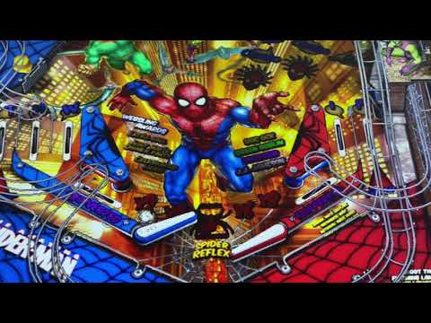 Close up nudge feature on arcade1up Marcel pinball from Kelsalls Arcade
