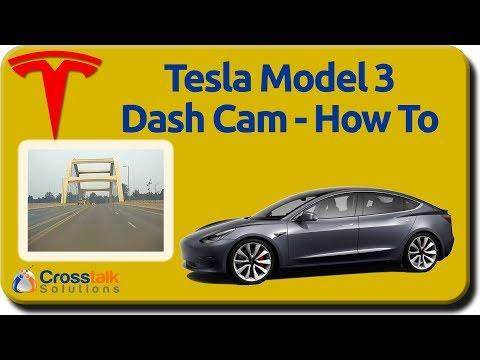 Tesla Model 3 Dashcam - How To
