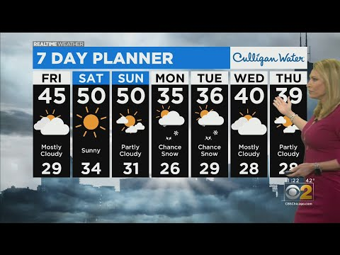 Chicago Weather: Few Clouds Saturday, Sunny On Sunday