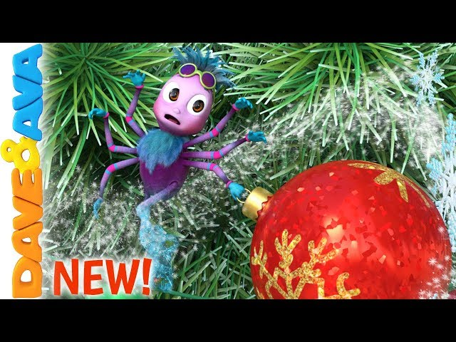 ❣️Itsy Bitsy Spider Christmas Version | Nursery Rhymes for Babies | Christmas Songs | Dave and Ava❣️