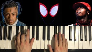 How To Play - Lil Wayne, XXXTentacion - Scared of the Dark (Piano Tutorial Lesson)