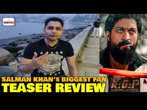 Download KGF 2 Teaser | Salman Khan's Biggest Fan REVIEW | Rocking Star Yash, Sanjay Dutt | Yash Birthday