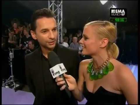 Depeche Mode Dave Gahan MTV Awards Interview