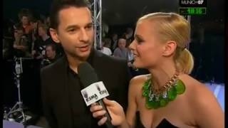 Depeche Mode Dave Gahan MTV Awards Interview