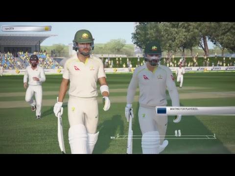 WORLD XI VS AUSTRALIA TEST MATCH  2017 ASHES Cricket 2017 ONLINE  GAMEPLAY PS4