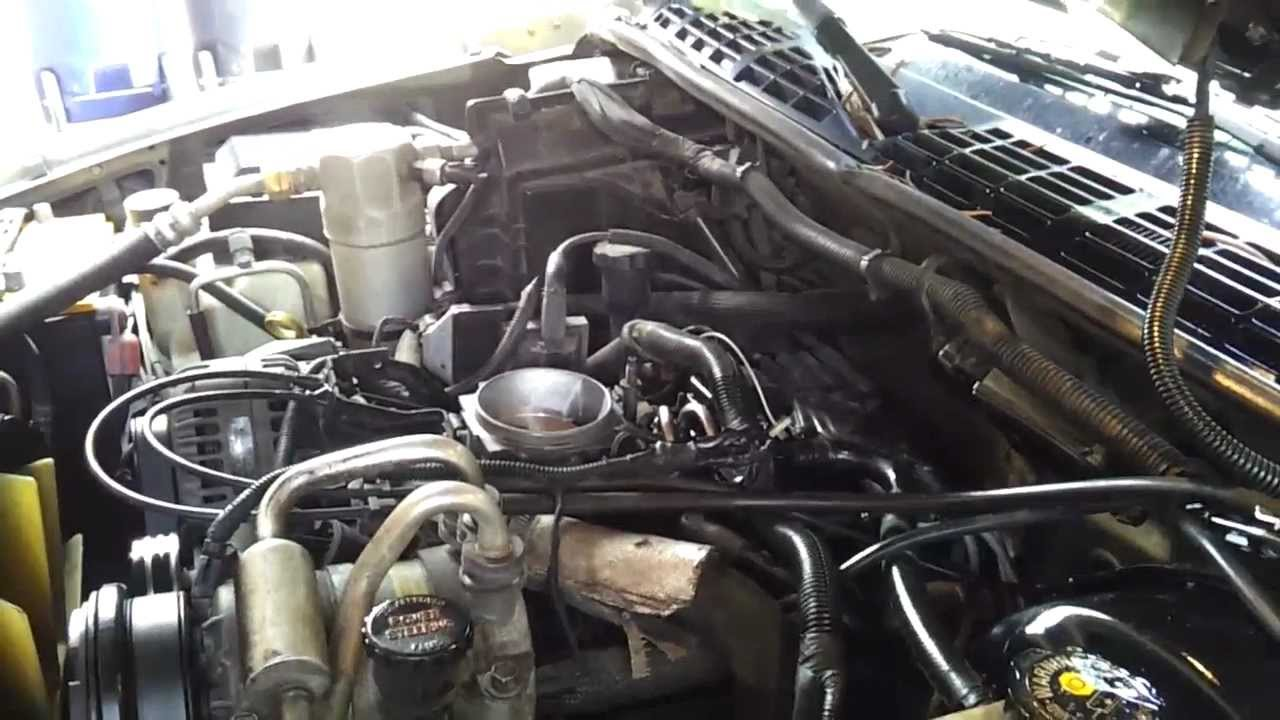 1999 Chevy Blazer 43L V6  Bad fuel line oring  YouTube
