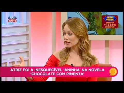 Mariana Ximenes no Queridas Manhãs (SIC - Portugal)