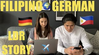 FILIPINO GERMAN Long Distance Relationship Story | Vlog on with RJ & Tin | Vlog 7