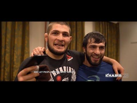 Khabib, Islam and team at UFC St. Petersburg!