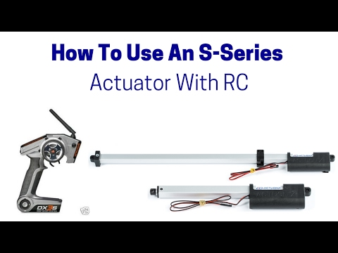 linear actuator hook up