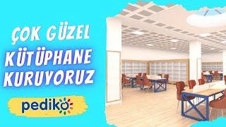 Çok Güzel Kütüphane Kuruyoruz | We perfectly eqiup libraries | Мы прекрасно оснащаем библиотеки